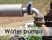 Application fields. Water Pumps.